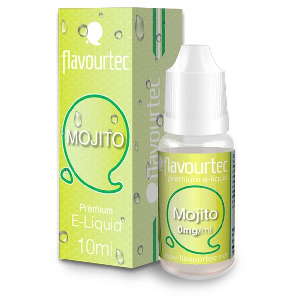 flavourtec MOJITO (minziger Cocktail) - E-Liquid made in EU