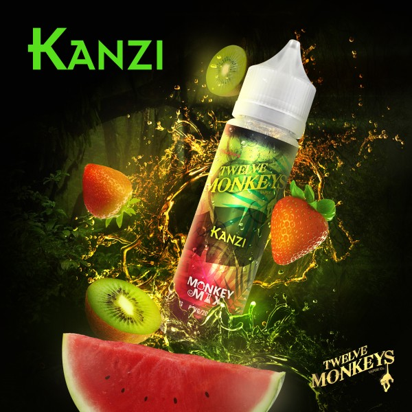 12 Monkeys 50ml KANZI OVERDOSED - E-Liquid made in CANADA