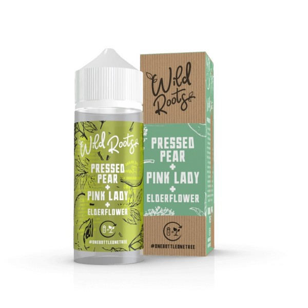 PRESSED PEAR 100ml OVERDOSED E-Liquid - WILD ROOTS by SIX LICKS