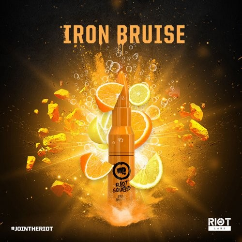 Riot Squad IRON BRUISE 50ml OVERDOSED - E-Liquid made in UK