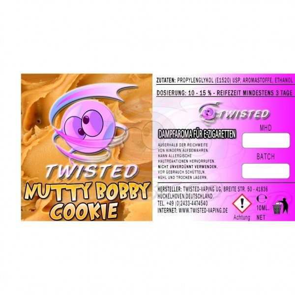 TWISTED Aroma NUTTY BOBBY COOKIE