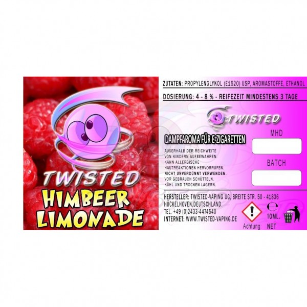 TWISTED Aroma HIMBEER LIMONADE