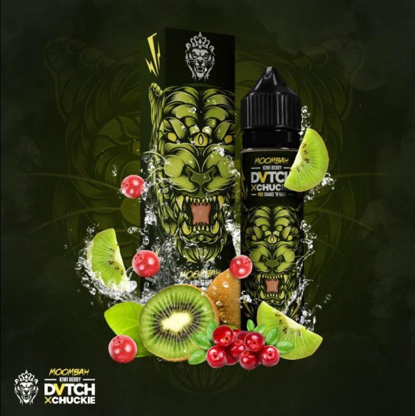 DVTCH CHUCKIE MOOMBAH (Kiwi, rote Früchte) - E-Liquid made in Amsterdam