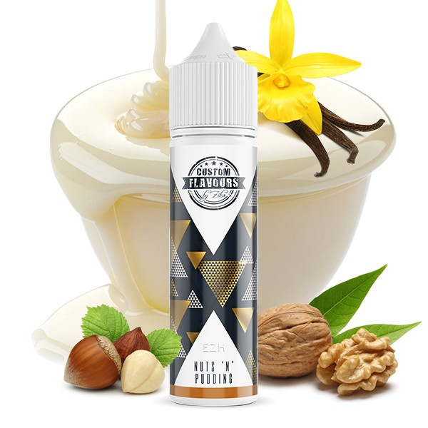 CUSTOM FLAVOURS BY ZIKO feat. Kapka's Flava Nuts 'n' Pudding Aroma 15ml