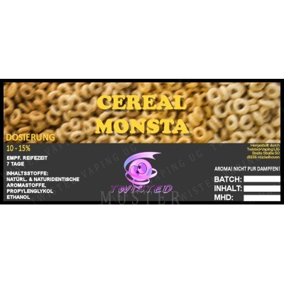 TWISTED Aroma CEREAL MONSTA (Cerealien, Beeren)