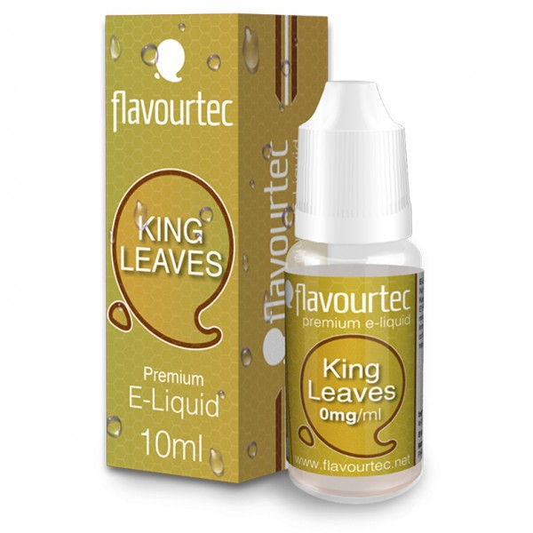 flavourtec KING LEAVES (Tabakgeschmack) - E-Liquid made in EU