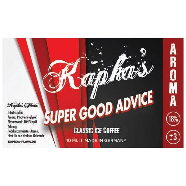 Kapka's Flava Aroma 10ml SUPER GOOD ADVICE
