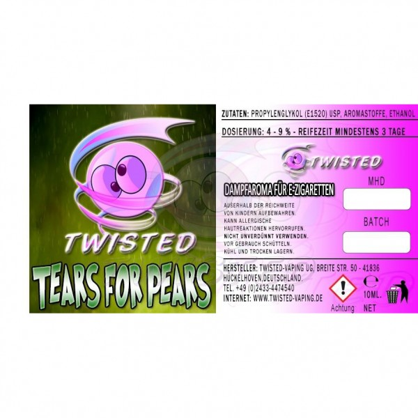TWISTED Aroma TEARS FOR PEARS