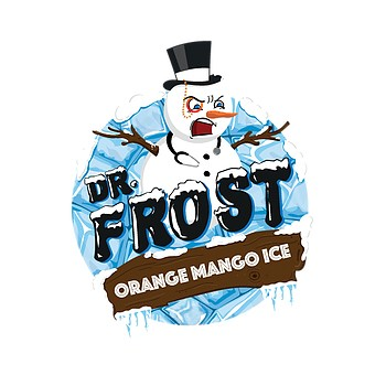 Dr. Frost ORANGE MANGO ICE Overdosed E-Liquid made in UK