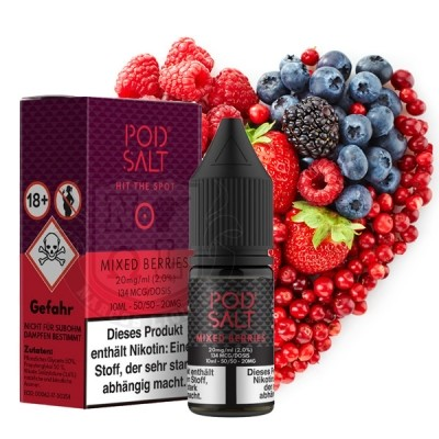 POD SALT Mixed Berries 20 mg Nikotinsalz Liquid