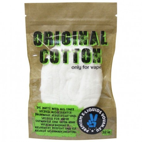 ORIGINAL COTTON ONLY FOR VAPER