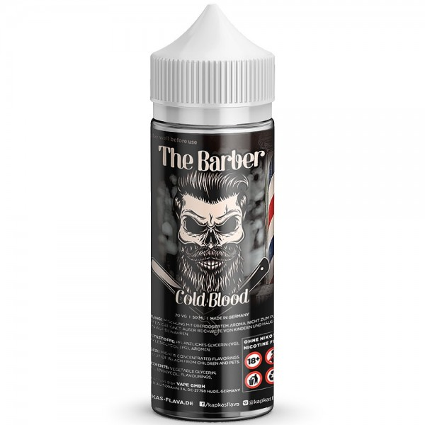 Kapka's Barber COLD BLOOD 50ml Overdosed - E-Liquid made in Germany