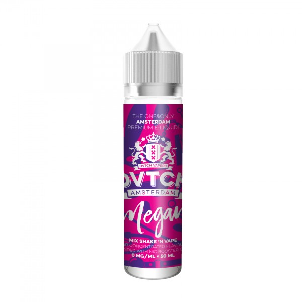 DVTCH MEGAN (eisige Mango) Overdosed E-Liquid made in Amsterdam