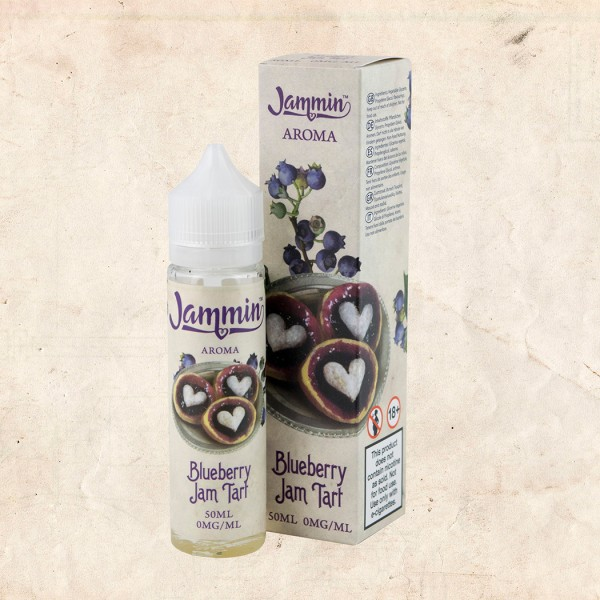 Jammin BLUEBERRY JAM TART 50ml OVERDOSED - E-Liquid made in UK
