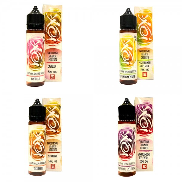 ! KOI Probierpaket 4x50ml OVERDOSED - E-Liquid made in USA
