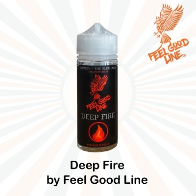 DEEP FIRE (Phönix Line) Long Fill Aroma - Vape Feeling