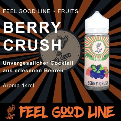 BERRY CRUSH Long Fill Aroma - Vape Feeling